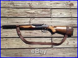 1 1/2 Wide Leather NO DRILL Rifle Sling For Henry Rifles