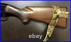 1 1/4 Wide NO DRILL Rifle Sling For Winchester Rifles. CAMO Leather