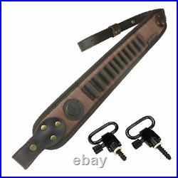 1 Suit Rifle Shell Holder With Gun Carrier Sling For 12Ga. 308, 30-30.22lr