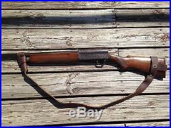 1 Wide Leather NO DRILL Rifle Sling For Henry Rifles. Brown Leather