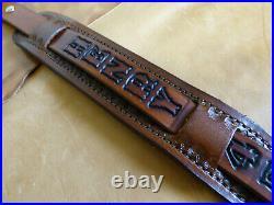 1 wide sling with 2 shoulder leather strap HENRY 45-70 Gov