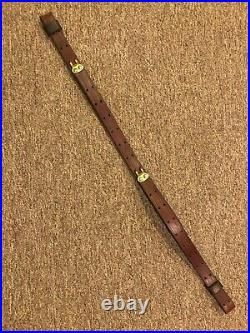1907 Style Rifle Sling 1 -Super Solid Harness Leather
