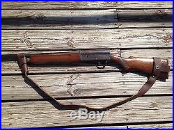 2 Wide Leather NO DRILL Rifle Sling For Henry Rifles. Brown Leather