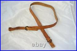 3x German Vintage Hunting Slings Tan
