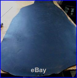 9/10 oz Black Veg Tan Water Buffalo Belt Strap Collar Leather Bend-12-13.5 sq ft