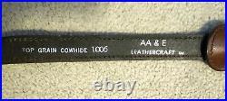 AA & E Leathercraft #1006 Bear adjustable rifle/shotgun sling with quick links
