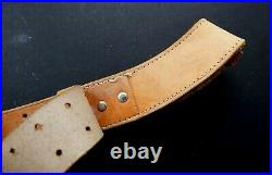 ANSCHUTZ LEATHER TARGET RIFLE SLING 7400 small bore shooting smle bsa martini