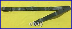 ARGENTINE ARMY GREEN LEATHER FAL SLING DOUBLE STRAP UNUSED ORIGINAL 1970s-1980s