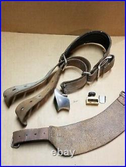 Al Freeland Match Target Rifle Shooting Cuffs, Sling Keeper, Hand Gaurd Lot