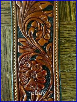 Alfonso's holster gun shop ultimate leather rifle sling. AMAZING! Custom