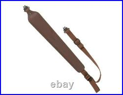 Allen Rifle Sling Cobra Leather 300 Pound Swivels Brown 8145