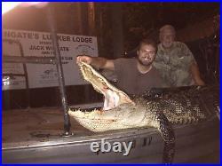 American Wild Alligator Rifle shotgun Shoulder Sling Strap gator leather JA3