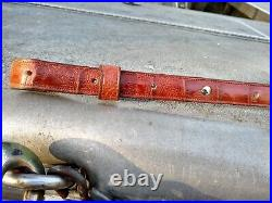 American Wild Alligator Rifle shotgun Shoulder Sling Strap gator leather JA4