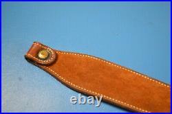 Bianchi Cobra Sling Rifle Carbine Leather Sling Vintage Tooled