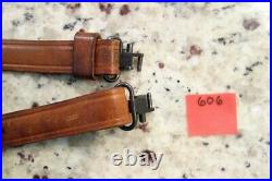 Bianchi Leather Sling 1970's Remington 700 Winchester Pre 64 70 With Swivels