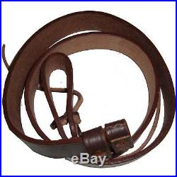 British WWI & WWII Lee Enfield SMLE Leather Rifle Sling 5 Units GM57622