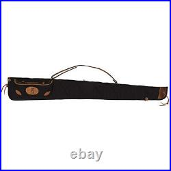 Browning Canvas/Leather 52 In Shotgun Sling Case Black/Brown 1413889952
