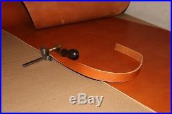 Bushcrafts Bridle Leather Rifle Sling USA Made