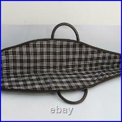 Canvas&Leather Hunting Gun Bag Rifle Sling Shoulder Bag Padded Carry Case 45