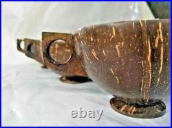 Coconut Shell Cup Set, 100% Handmade Ceylon Traditional Ecofriendly Natural Mug