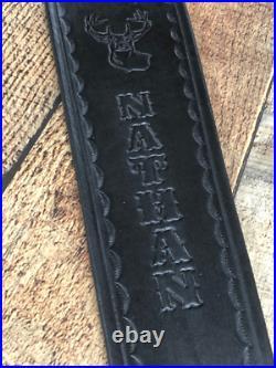 Custom Leather Rifle Sling