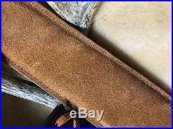Custom leather stock wrap And Sling for a Marlin model 336 30-30