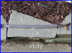 DANISH DENMARK GEV M/75 H&K 91/93 LEATHER RIFLE SLING with METAL CLASP