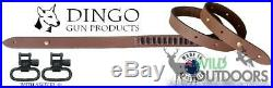 Dingo Gun Products Rifle Sling STRAP SLING with RIMFIRE LOOPS withSwivels