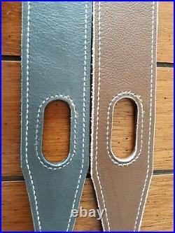 Flynlow2 custom leather gun firearm slings maker marked USA hand made