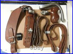 Freeland leather straps/slings target accessories