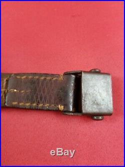 German K98k Rifle leather sling WW II