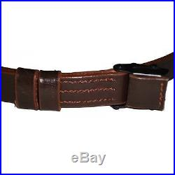 German Mauser K98 WWII Rifle Leather Sling x 10 UNITS Cq40444