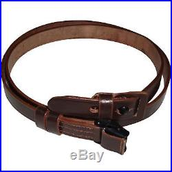 German Mauser K98 WWII Rifle Leather Sling x 10 UNITS wq14061