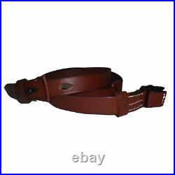 German Mauser K98 WWII Rifle Mid Brown Leather Sling x 10 UNITS S759