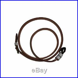 German Mauser K98 WWII Rifle White Leather Sling x 10 UNITS Md494