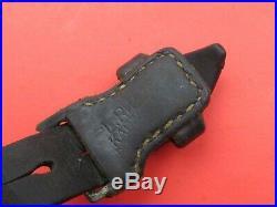 German WWII Era 98k WWII German Mauser rifle leather sling for K 98 K98 G43
