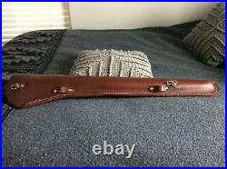Guide Gear Full Top Grain Leather Rifle Scabbard & Nice Custom Leather Sling