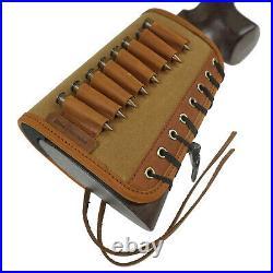 Gun Buttstock with Sling for 30-06 308.45-70 Rifle Ammo Cartridge Shell Holder