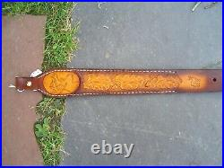 Hand made Leather Rifle Sling