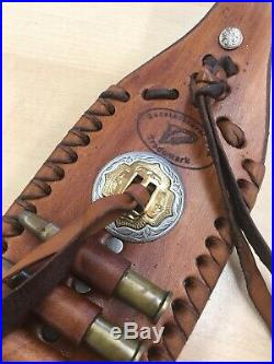 Handmade Leather Sling For 30-30 Ready To Ship