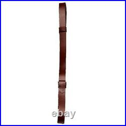 Hunter Company 230 Quick Fire Wide Leather Brown 1 Rifle Sling