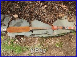 Hunters World #1009 Leather Rifle Sling 43 inches long Very Good Condition