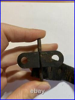 Japanese Arisaka Rifle Type 99 Sling Original Leather Band Screw Rare WW2