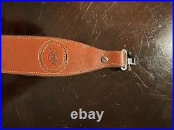 Kimber leather rifle sling