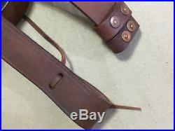 Latest WWI & WWII British Lee Enfield SMLE Leather Rifle Sling x LOT of 5 Slings