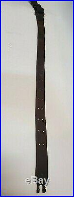 Lawrence Original U. S. WWI M1907 Leather Rifle Sling