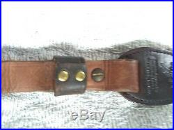 Leather Rifle Gun Sling Hand Crafted Personalized Rich Richard Shotgun Leather