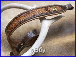 Leather Rifle Sling, Handcrafted by Seelye Leather Works in the USA, Ranger