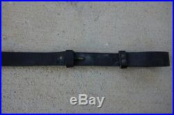 Leather Sling From Springfield Trapdoor Brass Fittings Good Shape