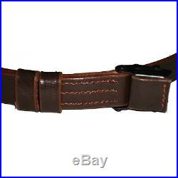 Leather Sling for German Mauser K98 WWII Rifle x 10 UNITS VS323